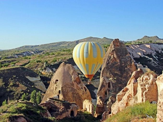 Воздушный шар, Каппадокия
