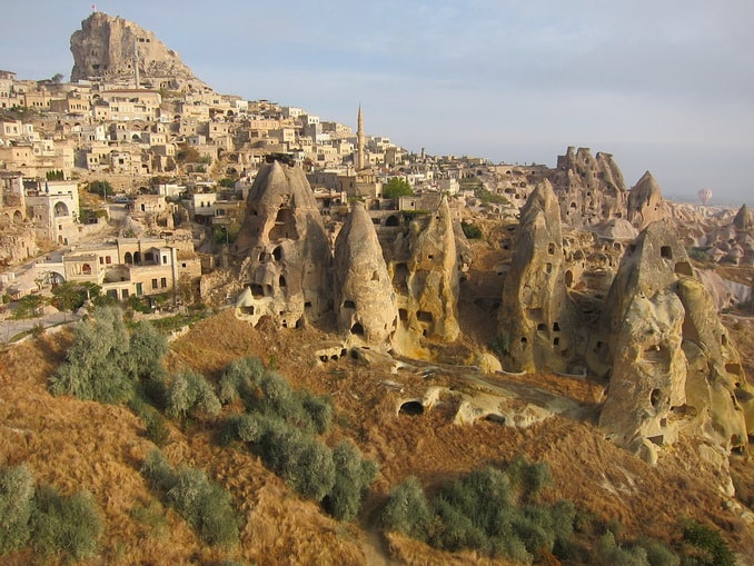 Город Учхисар, Турция