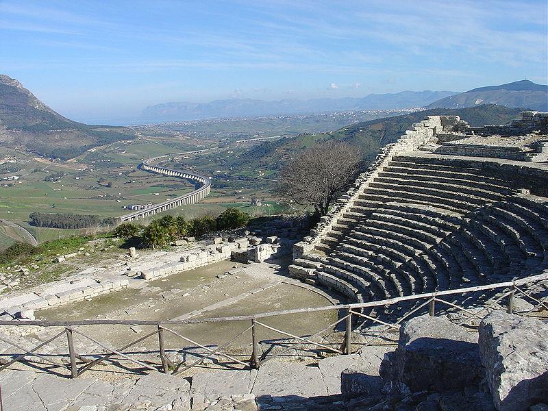 Сегеста, амфитеатр
