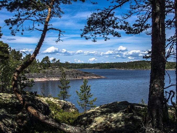 Ладожское озеро, шхеры