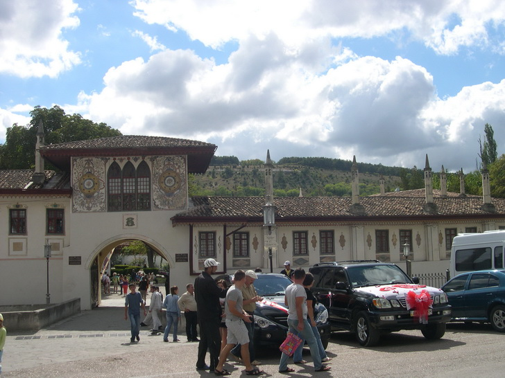 Бахчисарайский дворец, главный вход