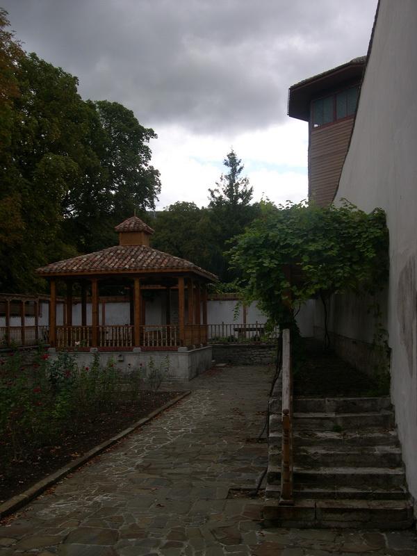 Гаремный садик Бахчисарайского дворца