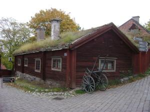 Старинный дом, Скансен