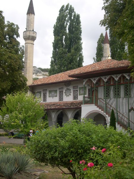 Мечеть Ханского дворца в Бахчисарае