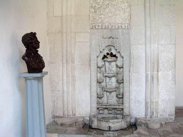 Фонтан слез в Бахчисарайском дворце