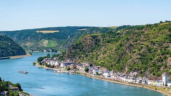 Рейн в Германии