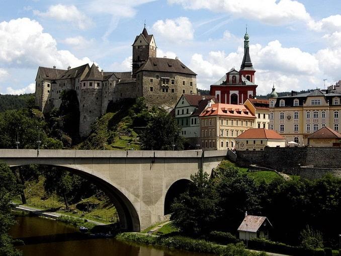 Замок Локет, Чехия, фото Václav Marcián