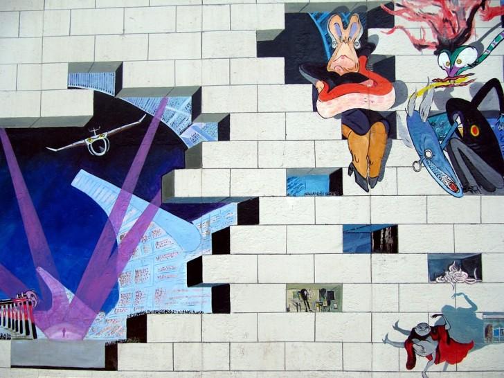 Берлинская стена, граффити