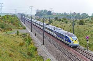 Поезд Eurostar во Франции