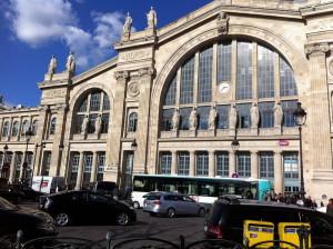 Северный вокзал в Париже, главный фасад
