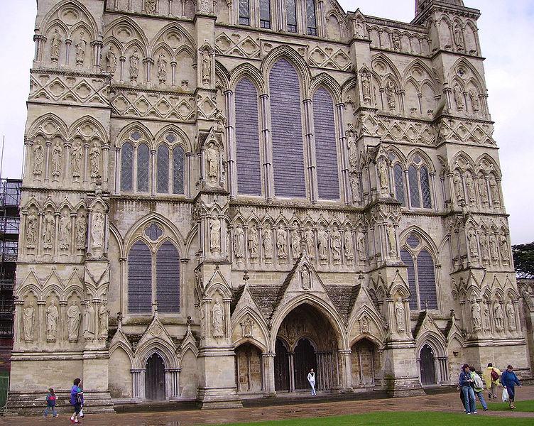 Солсберийский собор, главный вход