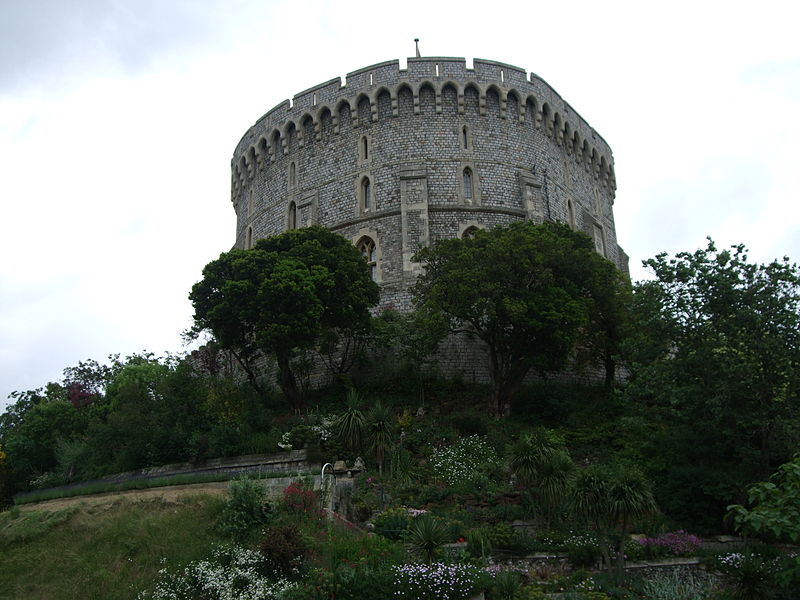 Виндзорский замок, круглая башня