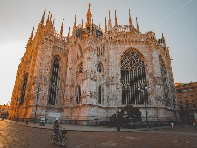 Миланский собор, алтарная часть