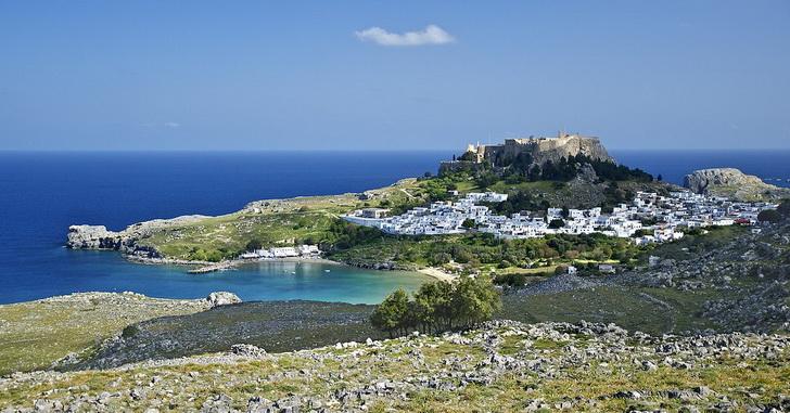 Остров Родос, Линдос