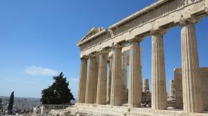 Парфенон в Акрополисе