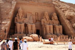 Храм Рамсеса в Абу Симбел