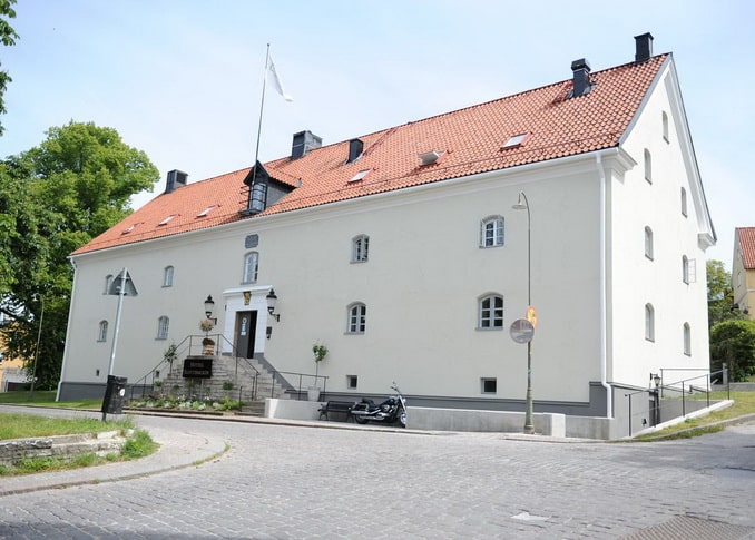 Hotell Slottsbacken в Висбю