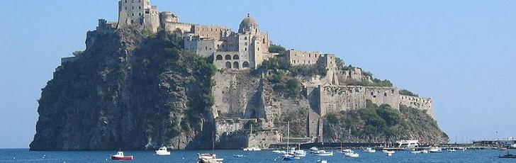 Арагонский замок, остров Искья