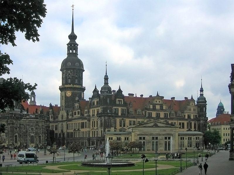 Королевский дворец Дрездена