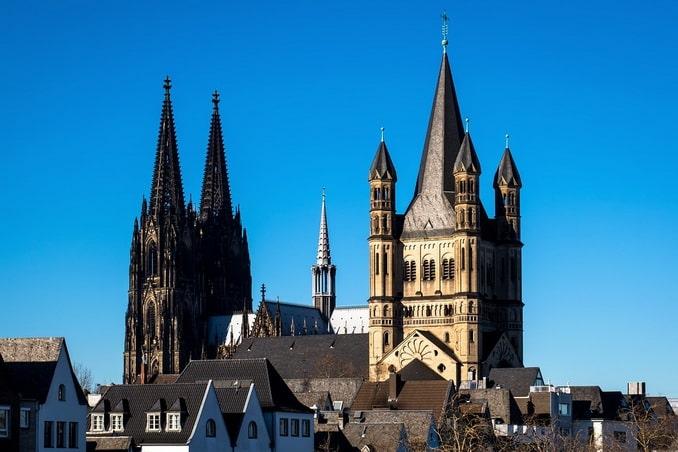 Кельнский собор и Большой Мартин