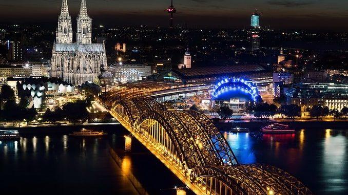 Рейн и собор - главные достопримечательности Кёльна