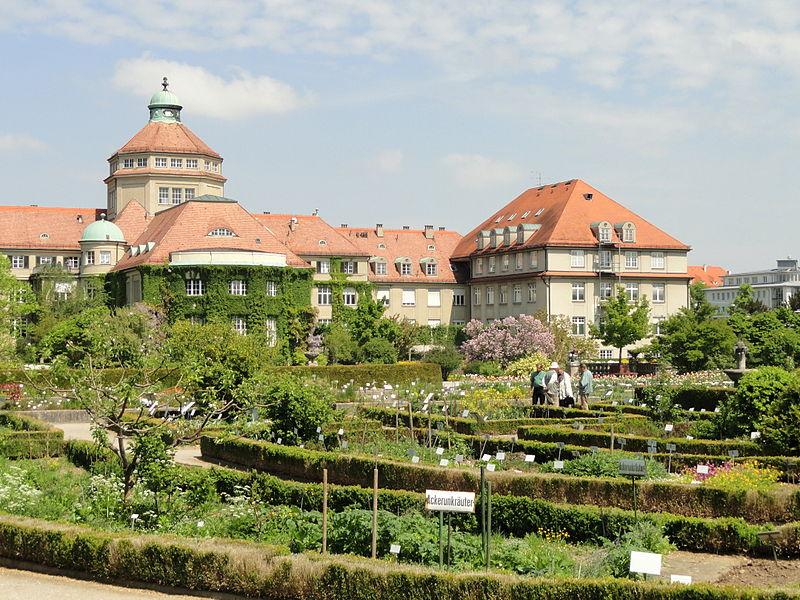 Ботанический сад Нимфенбурга