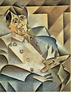 """Портрет Пикассо"", Хуан Грис"