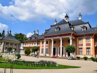 Дворец Пильниц, Саксония