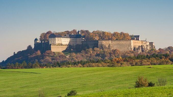 Крепость Кёнигштайн, Германия