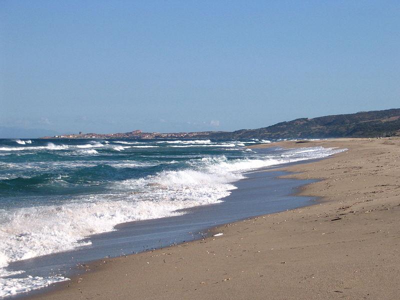 Пляж Бадеси, Сардиния