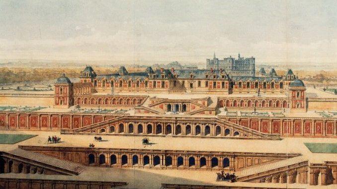 Новый дворец в Сен-Жермене, Франция