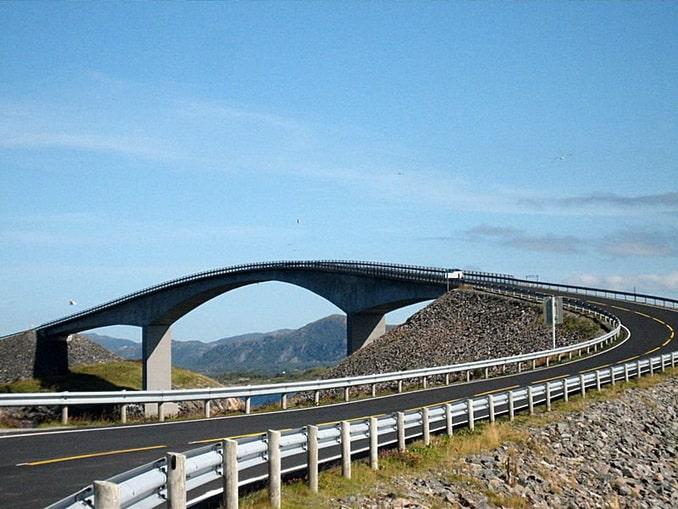 Сторсезандетский мост, Норвегия