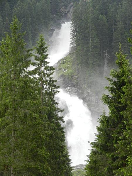Криммль, водопад