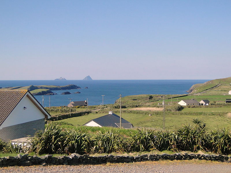 Острова Скеллиг, фото  Pklauss / Wikimedia Commons