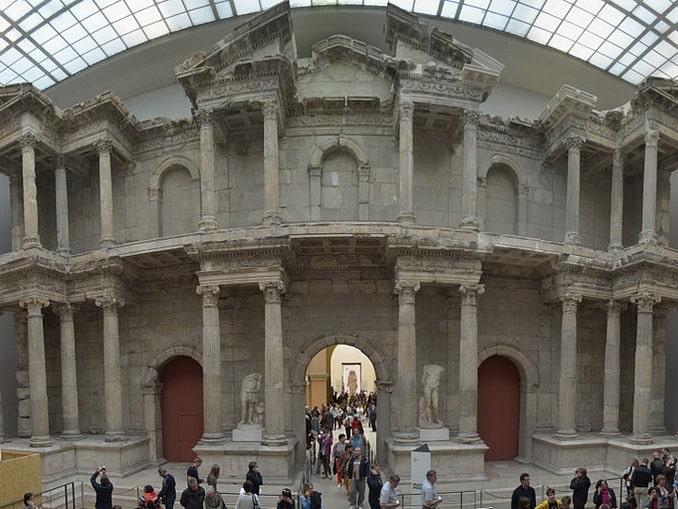 Рыночные ворота из Милета, музей Пергамон
