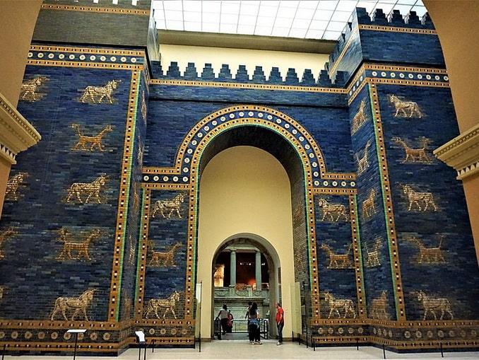 Ворота Иштар, Пергамский музей