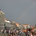 Венеция, радуга