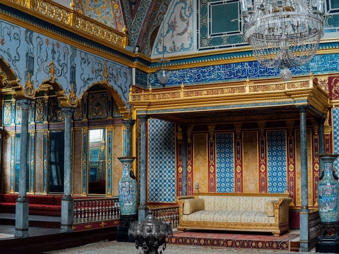 Имперский зал в гареме дворца Топкапы