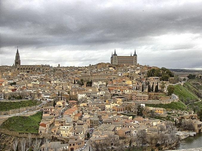 Вид на Толедо, Испания