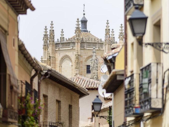 Толедо: дома и крыши