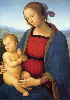 Мадонна с младенцем, Пьетро Перуджино
