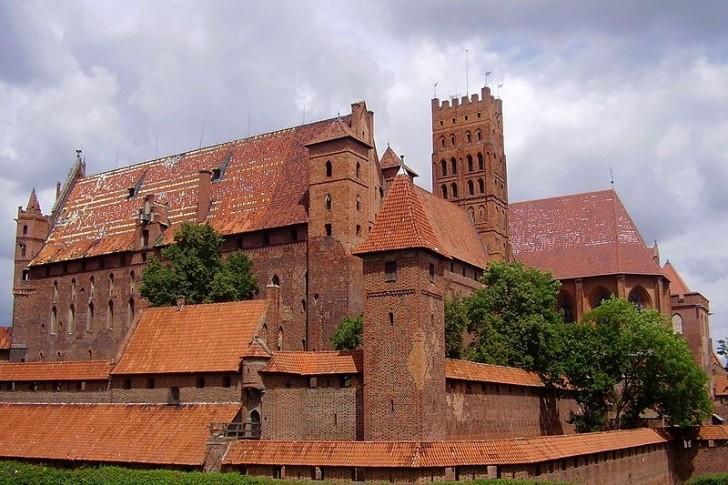 Высокий замок, Мальборк, Польша