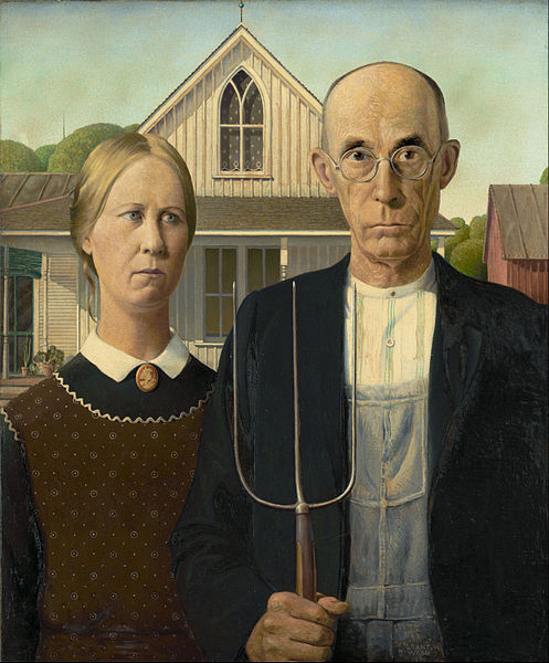 Американская готика, Грант Вуд