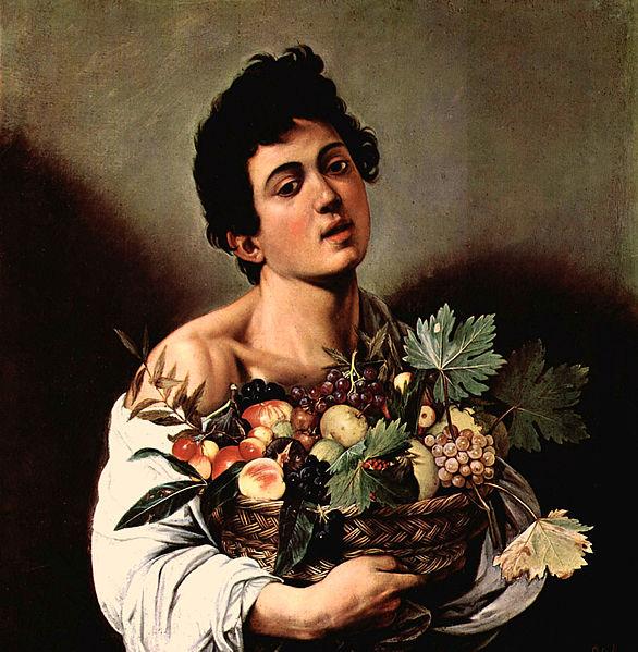 Молодой человек с фруктами, Караваджо