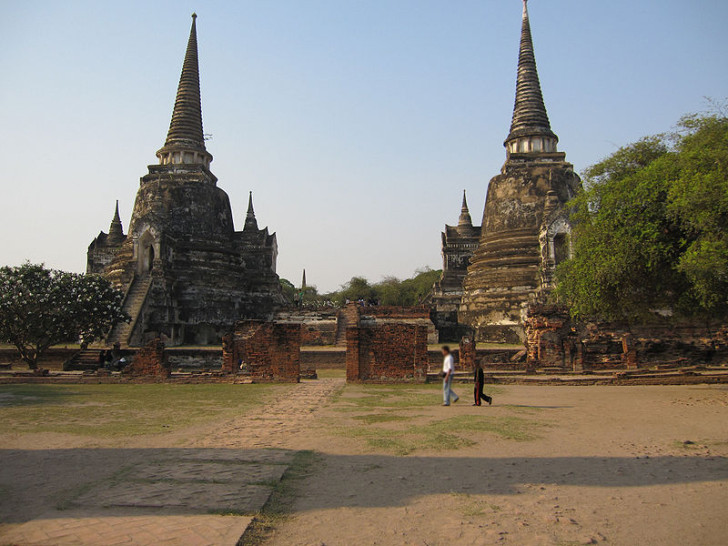 Ват Пхра Си Сан Пхет, Аюттхая