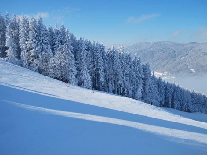 Склон в Земмеринге, Австрия