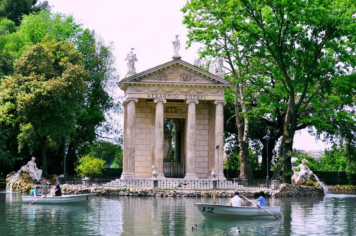 Вилла Боргезе, Рим