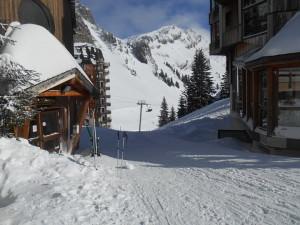 Авориаз и лыжи