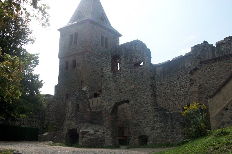 Замок Франкенштейн внутри