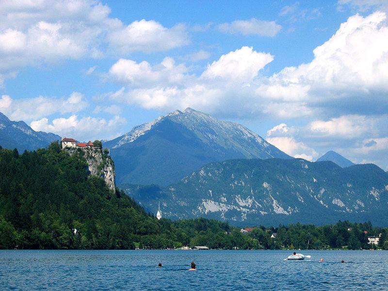 Озеро Блед, замок